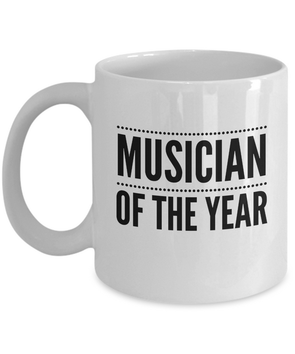 Musician of the Year - version 3 - 11 Ounce Mug