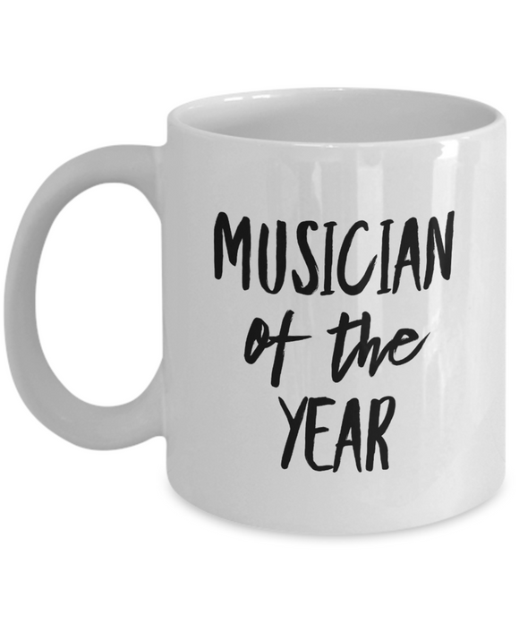Musician of the Year - version 2 - 11 Ounce Mug