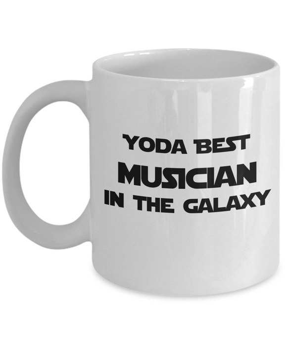 Yoda Best Musician In The Galaxy - 11 Ounce Mug