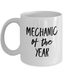 Mechanic of the Year - version 1 - 11 Ounce Mug
