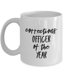 Corrections Officer of the Year - 11 Ounce Mug