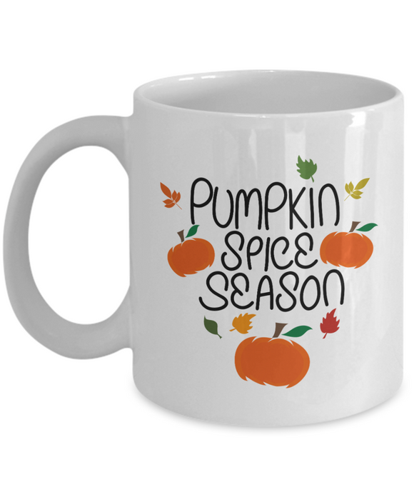 Pumpkin Spice Season - 11 Ounce Mug
