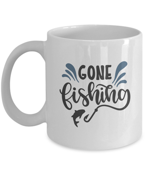 Gone Fishing - 11 Ounce Mug