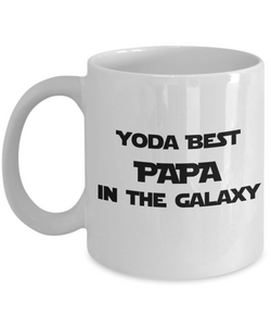 Yoda Best PAPA In The Galaxy - 11 Ounce Mug
