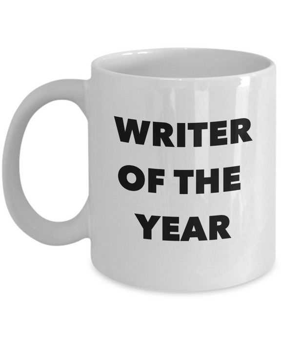 Writer of the Year - 11 Ounce Mug