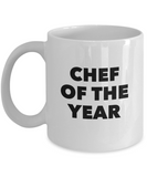 Chef of the Year (version 2) - 11 Ounce Mug