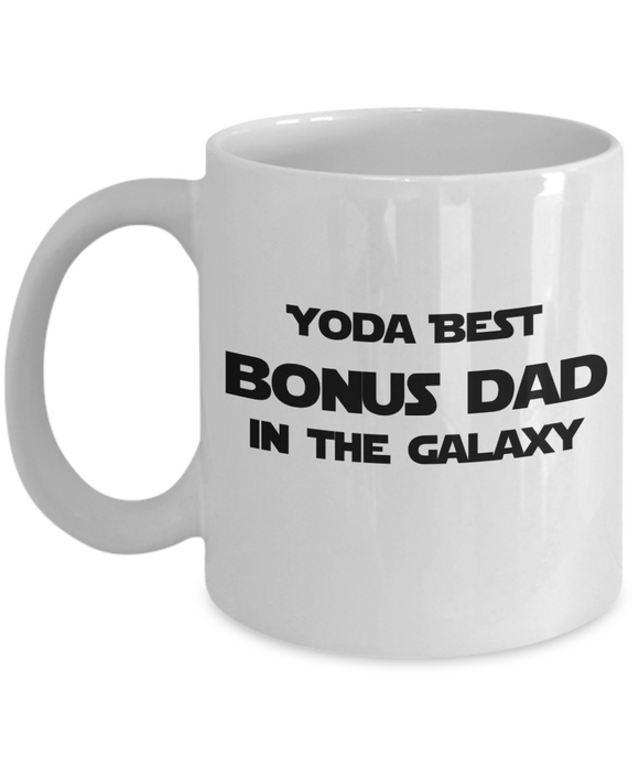 Yoda Best Bonus Dad In The Galaxy - 11 Ounce Mug