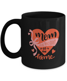 Mom The Heart of the Home (version 2) - 11 Ounce Mug