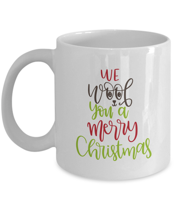 We Woof You A Merry Christmas - 11 Ounce Mug
