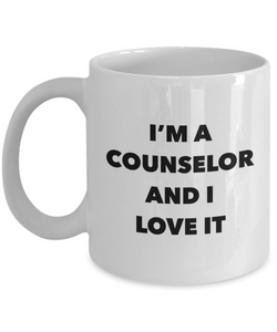 I'm A Counselor and I Love It - version 2 - 11 Ounce Mug