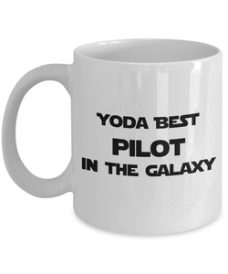 Yoda Best Pilot In The Galaxy - 11 Ounce Mug