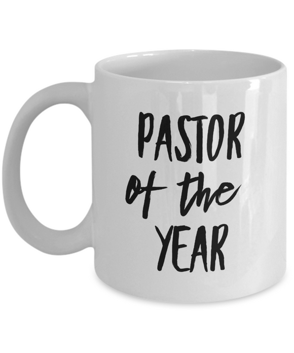 Pastor of the Year - version 1 - 11 Ounce Mug