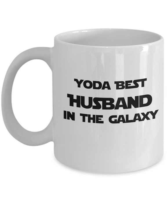 Yoda Best Husband In The Galaxy - 11 Ounce Mug