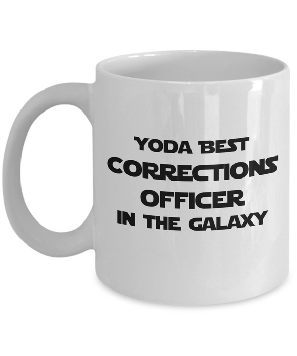 Yoda Best Corrections Officer In The Galaxy - 11 Ounce Mug
