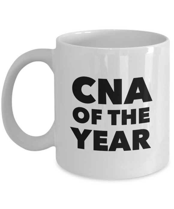 CNA of the Year - version 2 - 11 Ounce Mug