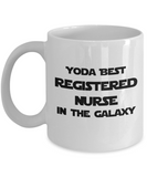 Yoda Best Registered Nurse In The Galaxy - 11 Ounce Mug