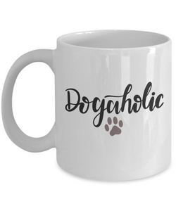 Dogaholic (version 2) - 11 Ounce Mug