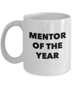 Mentor of the Year - version 1 - 11 Ounce Mug