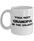 Yoda Best GRANDPA In The Galaxy - 11 Ounce Mug