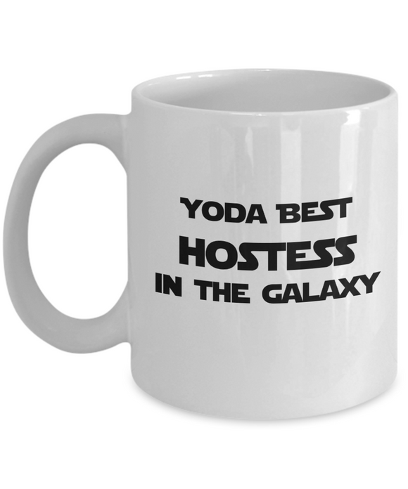 Yoda Best Hostess In The Galaxy - 11 Ounce Mug