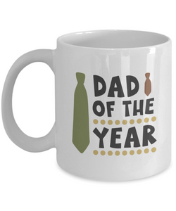 Dad of the Year (version 2) - 11 Ounce Mug