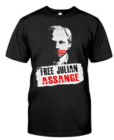 free julian assange shirt
