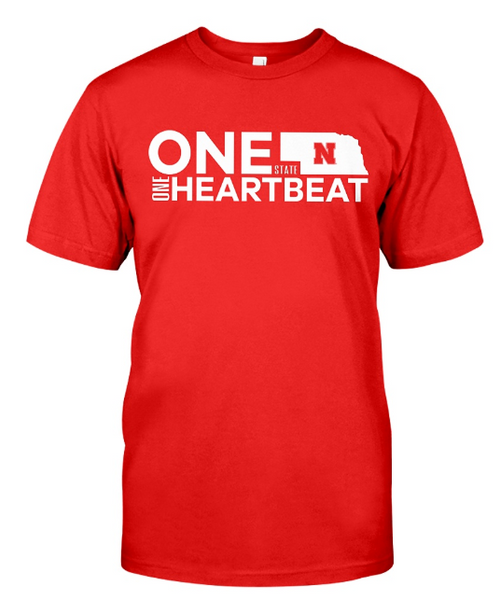 one state one heartbeat shirt
