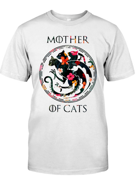 mother of cat shirt