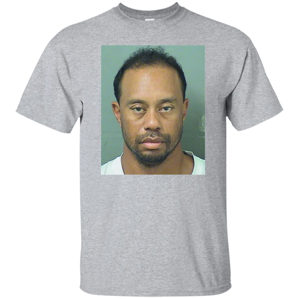 Tiger woods mug shot shirt