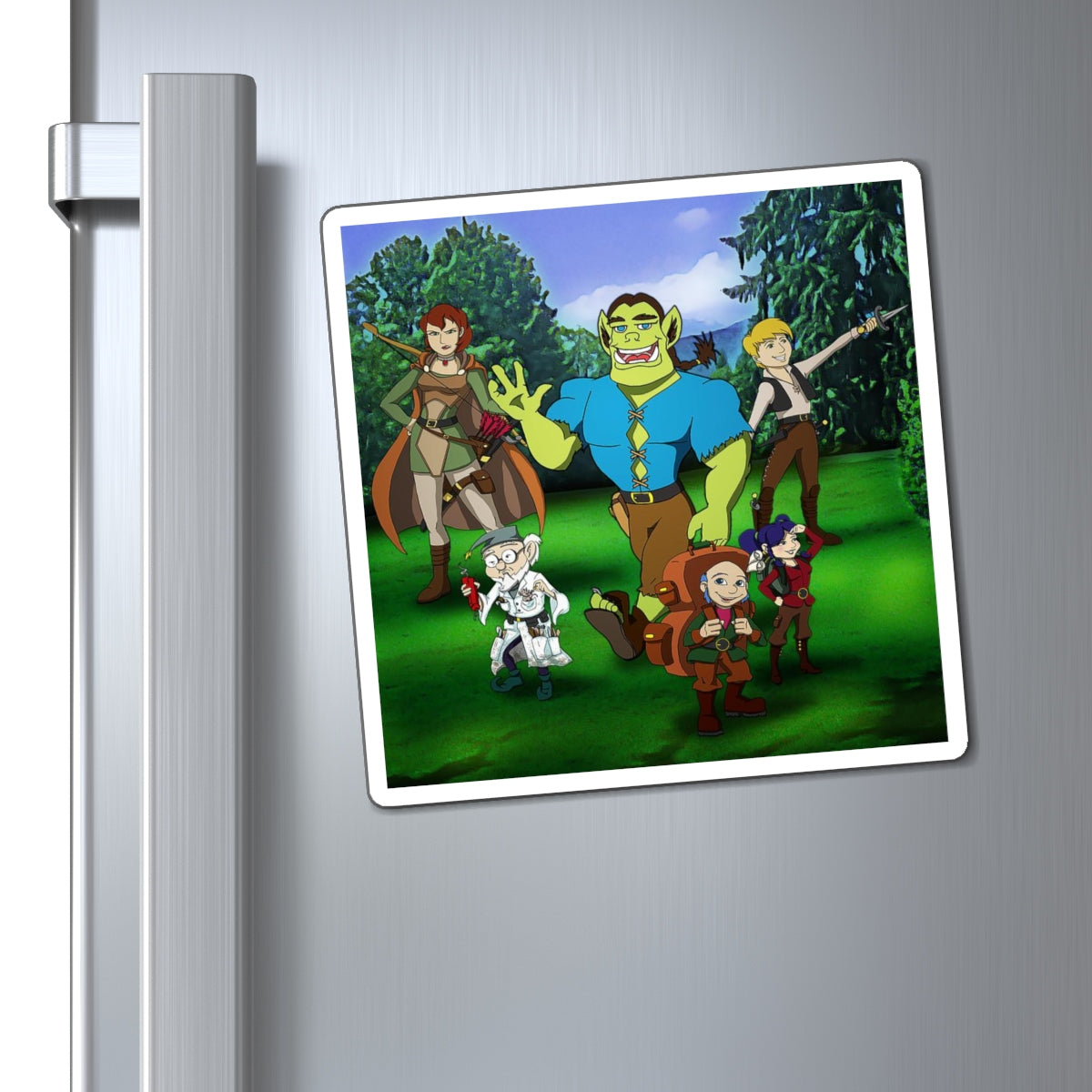 ZUG and his friends Magnet
