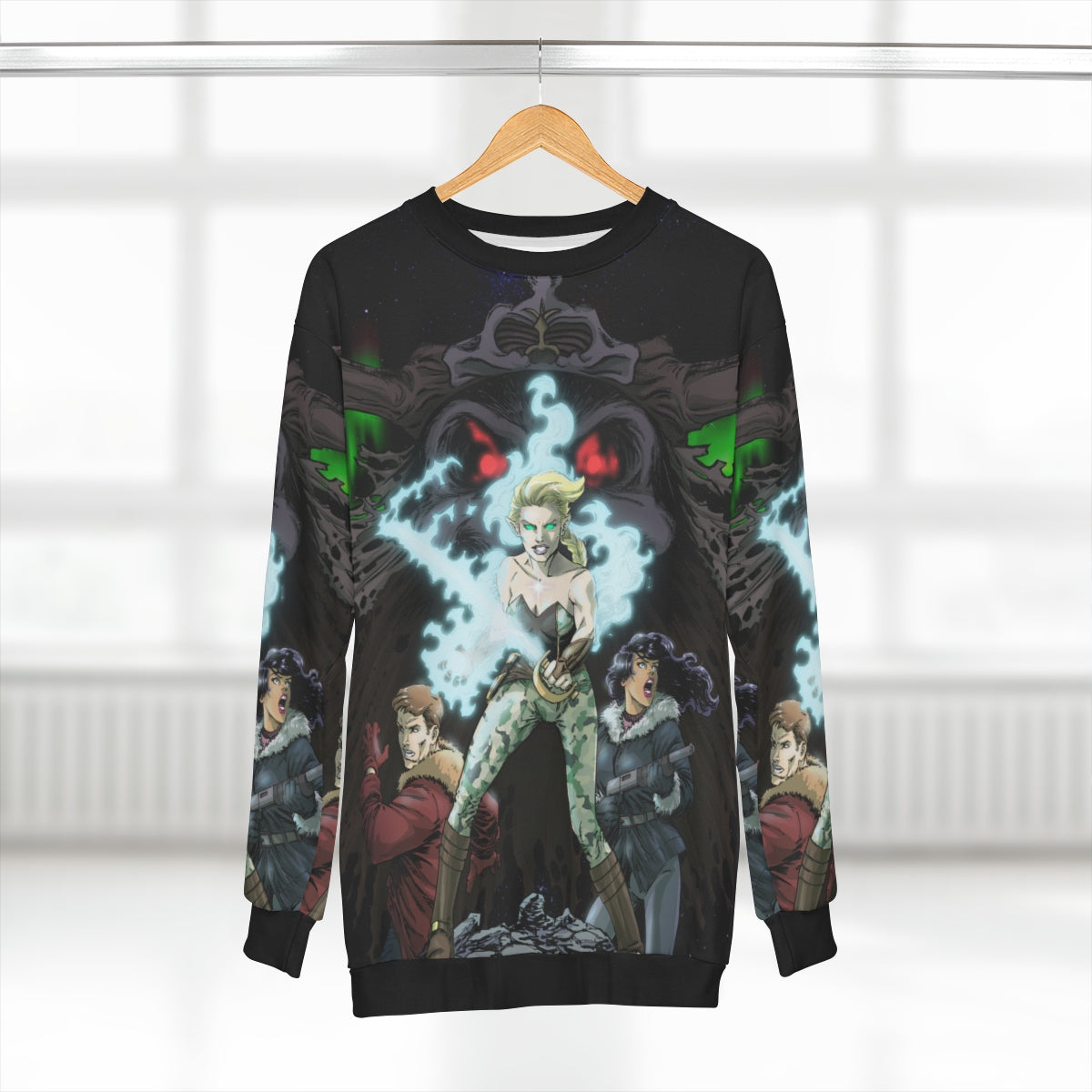 LAND OF FIRE AND ICE Sweatshirt