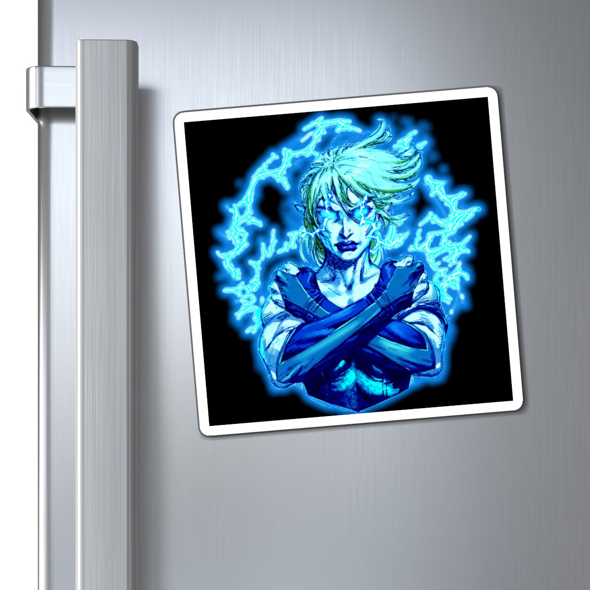 ARISTAR glows blue magnet
