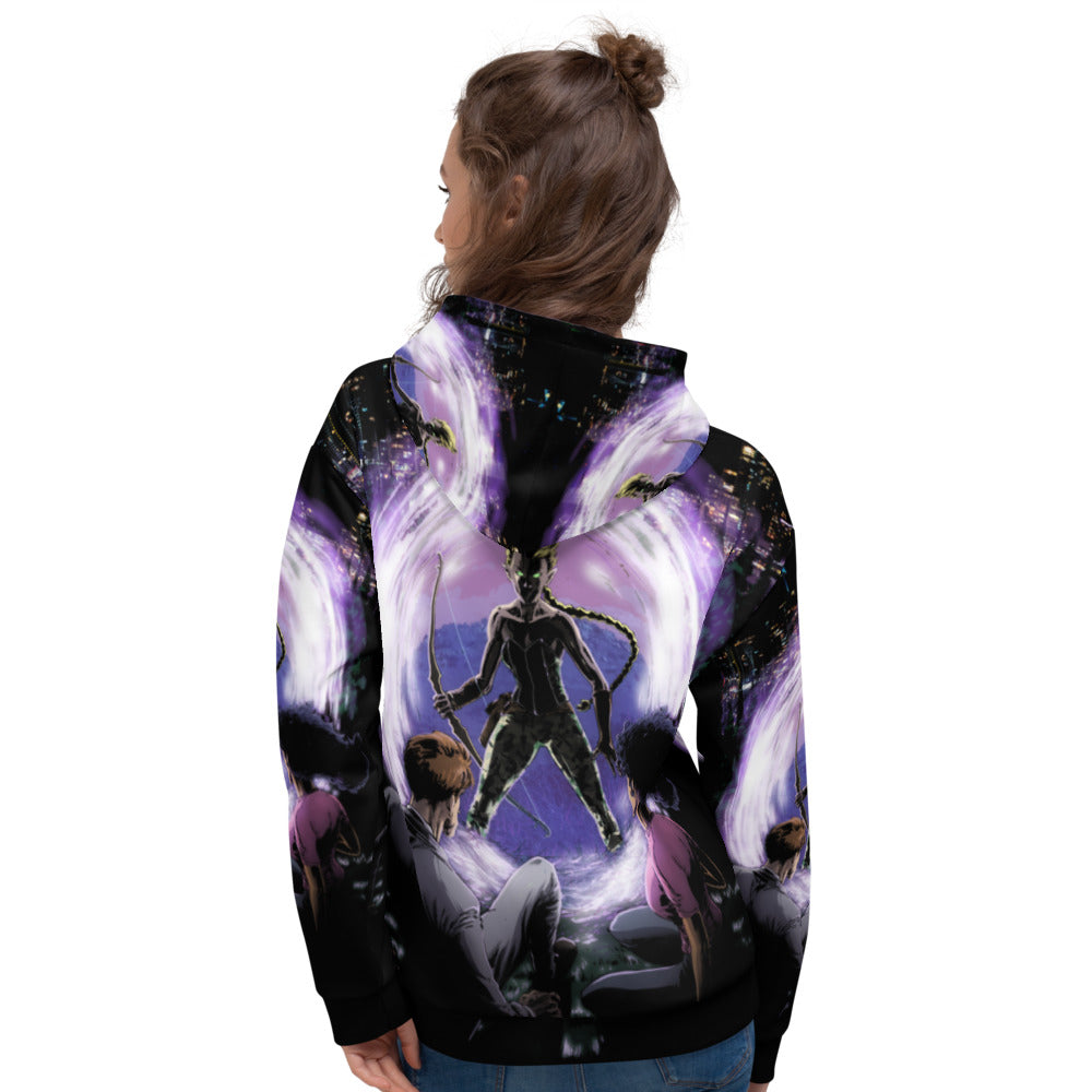 Through the Dark Portal ALL OVER Hoodie!