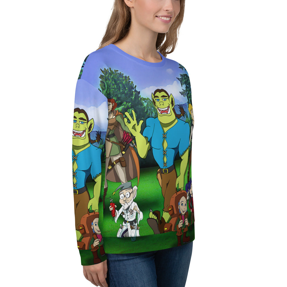 ZUG and friends sweatshirt