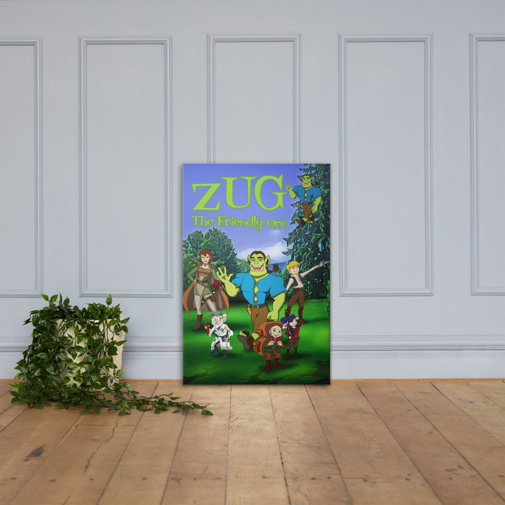 ZUG THE FRIENDLY ORC poster!