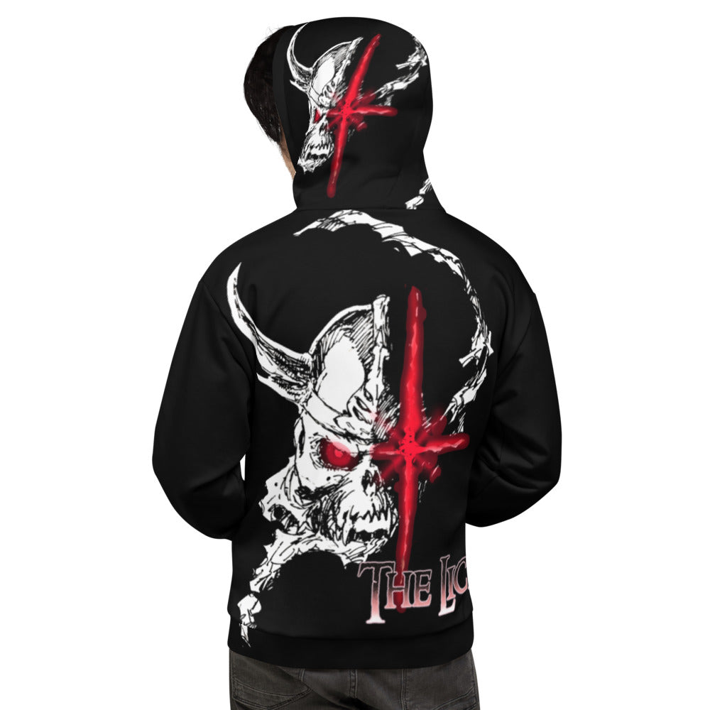 THE LICH All over hoodie