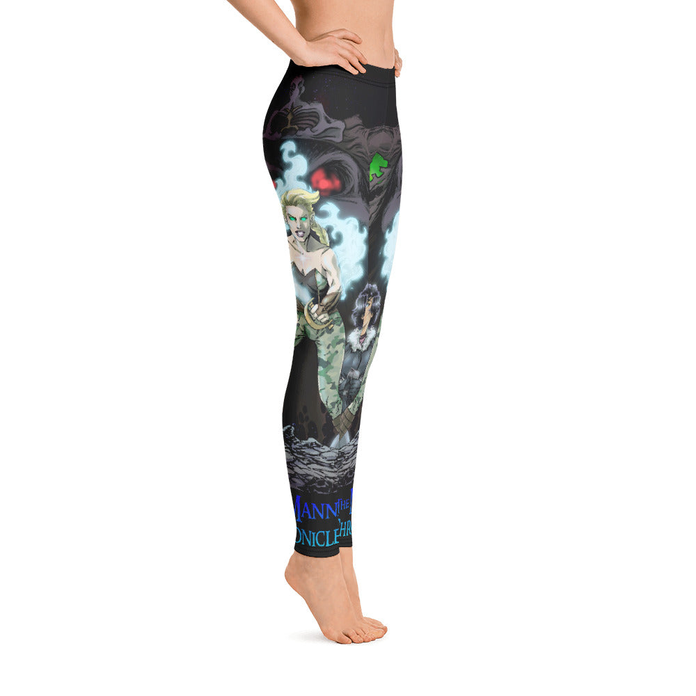 LAND of FIRE and ICE Legging