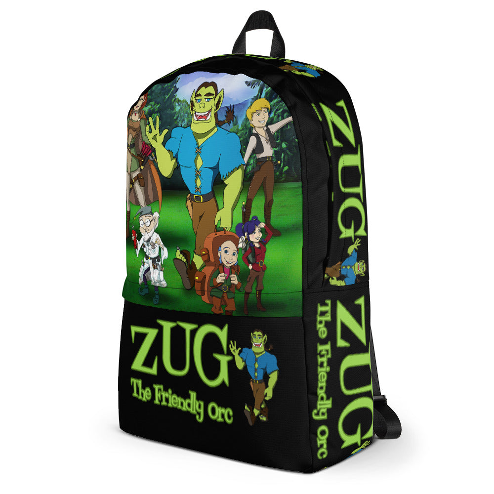 ZUG and Friends on a Backpack!