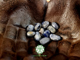 Blue Sapphire (Blue Corundum, Blue Ruby) small tumbled crystal .5 inch