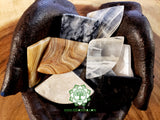 Onyx Worry Stone triangle shaped 2 inches