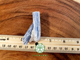 Blue Kyanite Blade large rough stone 2.5x1.2x.4 inches (BK09)