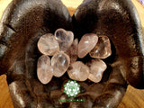 Rose Quartz AA Grade large tumbled crystal 1 inch