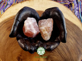 Rose Quartz from South Dakota XXL rough crystal 2-3 inches 3oz