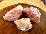 Rose Quartz from South Dakota XXL rough crystal 3-4 inches 9oz