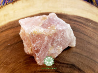 Rose Quartz from South Dakota XXL rough crystal 3.8 inches 12oz