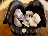 Smoky Rose Quartz medium rough crystal 1.2-1.5 inches