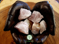 Smoky Rose Quartz large rough crystal 1.75 inches