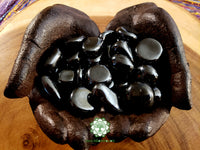 Hematite medium tumbled crystal 1 inch