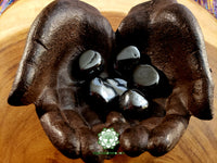Hematite large tumbled crystal 1.25 inches
