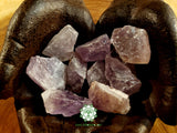 Amethyst medium rough crystal 1.5 inches